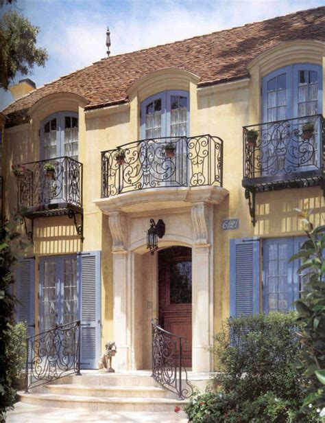 french mediterranean homes french country