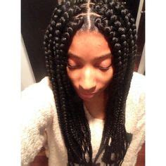 low maintenice weaves medium length box braids hair spirations pinterest