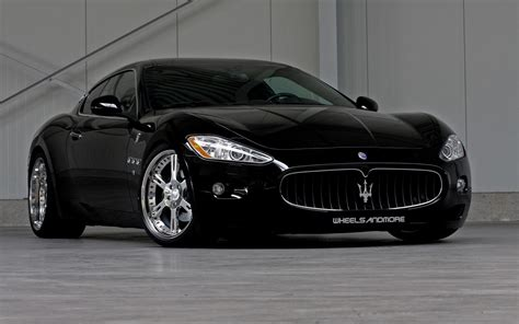 Black Maserati Black Maserati Wheels And More Hd Desktop