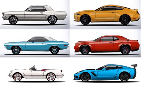 evolution mustang the history and evolution of the mustang challenger and