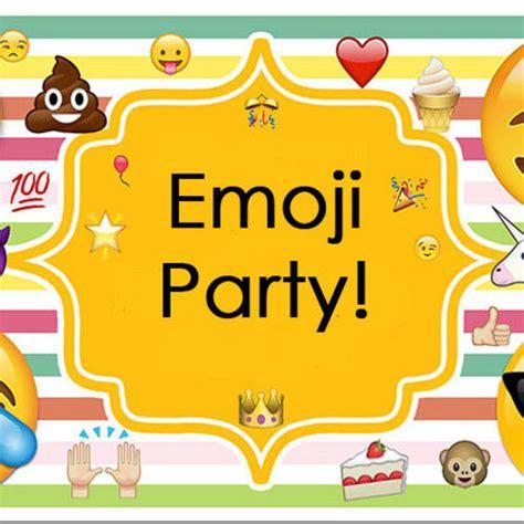 emoji party emoji party to benefit winchester youth service bureau