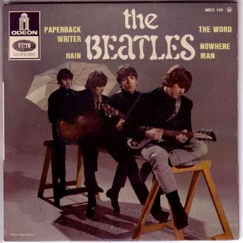 I D Paperback paperback writer de the beatles en vinyle 45 tours pas