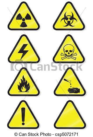 imagenes simbolos quimicos vector clip art de conjunto qu 237 mico advertencia se 241 ales