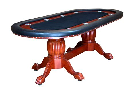 holdem table 94 quot rockwell holdem table with wood legs 4