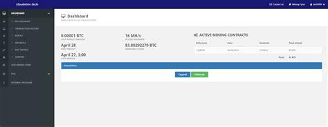 Bitcoin Cloud Mining V3 0 by Script Company Bitcoin V3 32 Open Cloud Mining Business