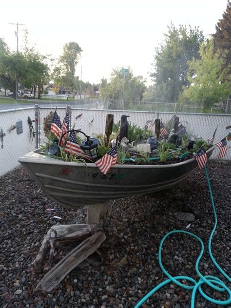 17 images about boat planter on gardens