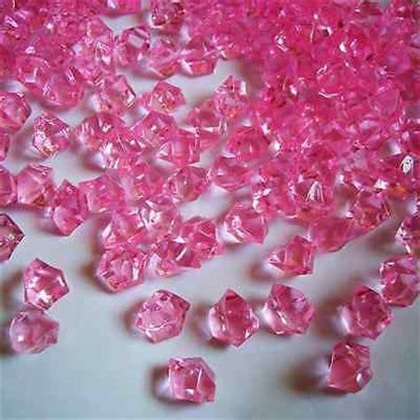 Pink Rocks For Vases 500pcs acrylic rocks acrylic stones crystals pink