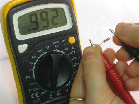 testing a resistors resistance multimeters adafruit learning system