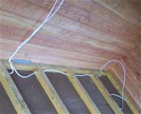 elektrik neu verlegen altbau kosten elektroinstallation im gartenhaus