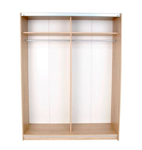 dallas oak sliding door wardrobe mirror