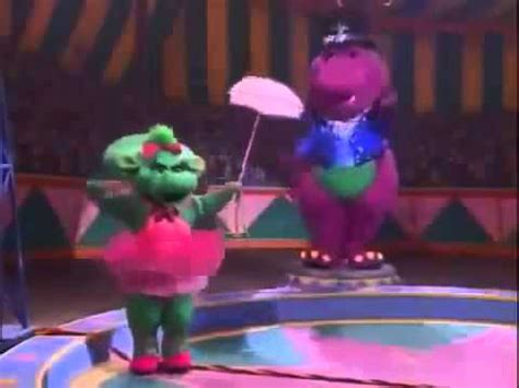 barney's super singing circus dvd version youtube