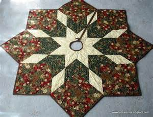 quilted tree skirt pattern tazzie quilts