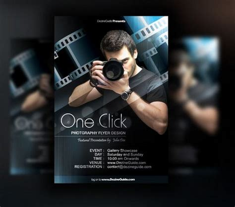 photographer design templates 30 free poster flyer templates in psd ginva