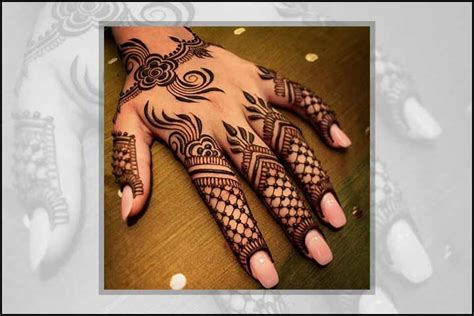 mehndi patterns using geometric shapes 14 super stylish mehndi designs that are trending right now