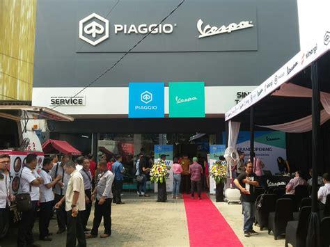 Modifikasi Vespa Tangerang diler piaggio vespa sinergi tangerang resmi dibuka gilamotor