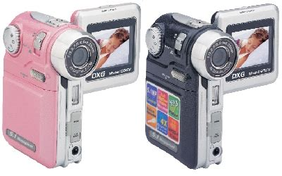 Dxg Release 5 Megapixel Camcorder Dxg 506v In Four Colours Including Black Natch by Dxg Dxg 506v Fashion Camcorder Itech News Net