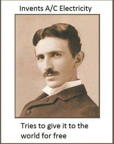 Nikola Tesla Facts Facts About Nikola Tesla Barnorama