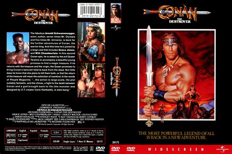 conan the destroyer dvd cover covers box sk conan the destroyer 1984 high quality