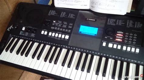 Keyboard Yamaha Psr E423 Bekas keyboard yamaha psr e423 czarnk 243 w sprzedajemy pl