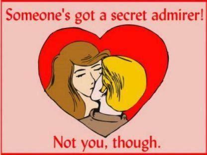 s card secret admirer someone s got a secret admirer not you though