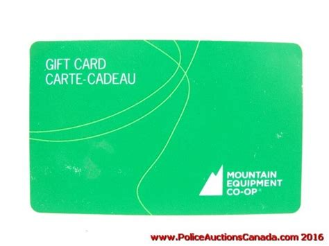 Co Op Gift Card - police auctions canada mountain equipment co op gift card 25 124167h