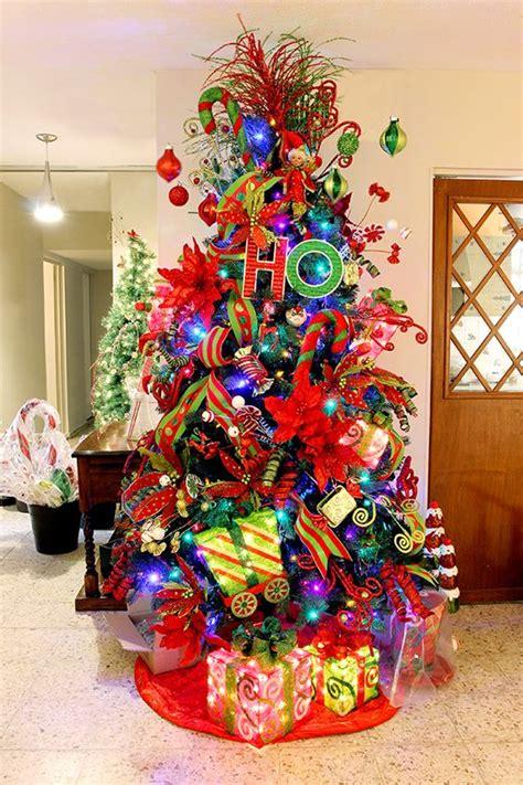 arbol de navidad colorido buscar con google navidad