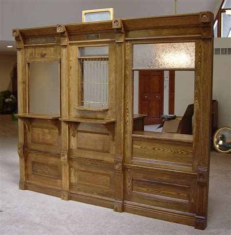 Coe Furniture by Chestnut 1890 S Post Office Three Section Unit
