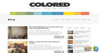 colored blogger template 2014 free blogger templates