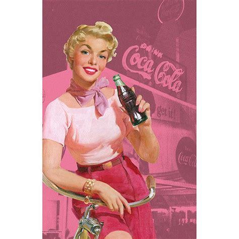 imagenes pin up vintage coca cola vintage pinup tea towel rockabilly advertising
