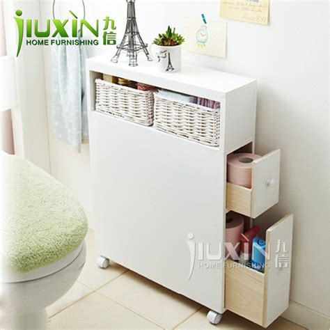 Furniture Toilet Combination Side Cabinet Bathroom Cabinet Bathroom Floor Storage
