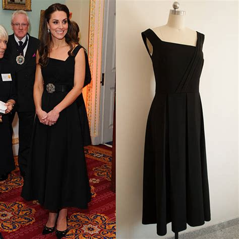 Kate Middleton Evening red dress/ Preen Finella dress/ Off shoulder/ 50s/ Audrey inspired