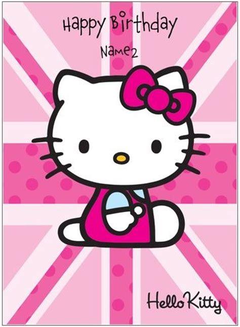 imagenes de happy birthday lindas tarjetas de cumplea 241 os de hello kitty para imprimir