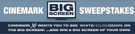 Flat Screen Tv Sweepstakes - cinemark quot big screen quot sweepstakes win a 60 quot sony bravia flat screen tv