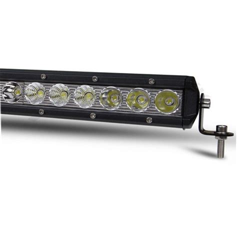 25 Led Light Bar 25 Quot 120w Led Light Bar Slim 9000 Lumens