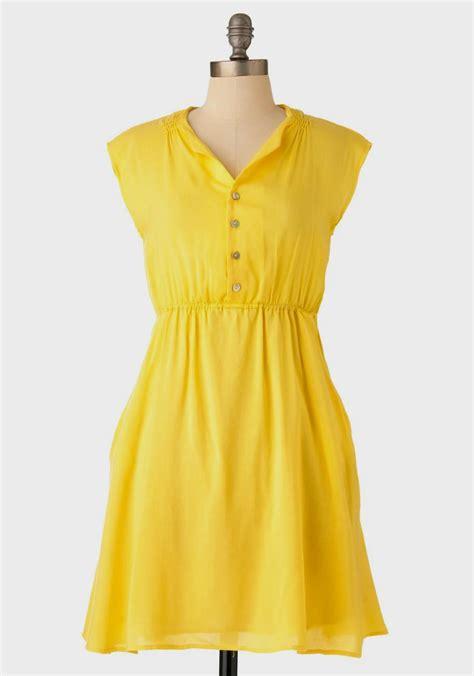 Ylw Dress casual yellow dress dress yp
