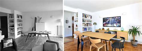 Decoration Interieur Salon Sejour by D 233 Coration D Un Salon S 233 Jour De 40m2 Avant Apr 232 S