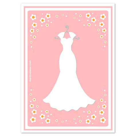 wedding dress template for cards wedding dress card invitations cards on pingg