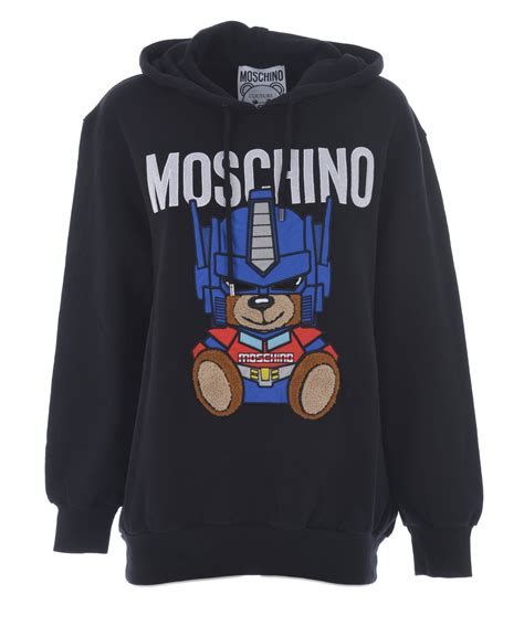 Moschino Maxy maxi felpa moschino quot orso transformers quot moschino