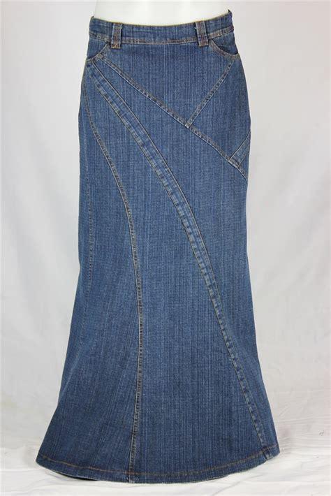 natalie seamed jean skirt sizes 6 18