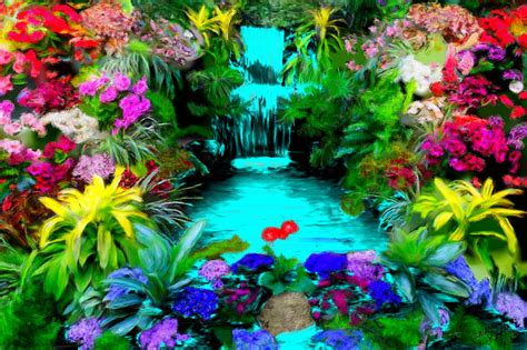 beautiful waterfalls with flowers waterfalls with flowers www pixshark com images galleries with a bite