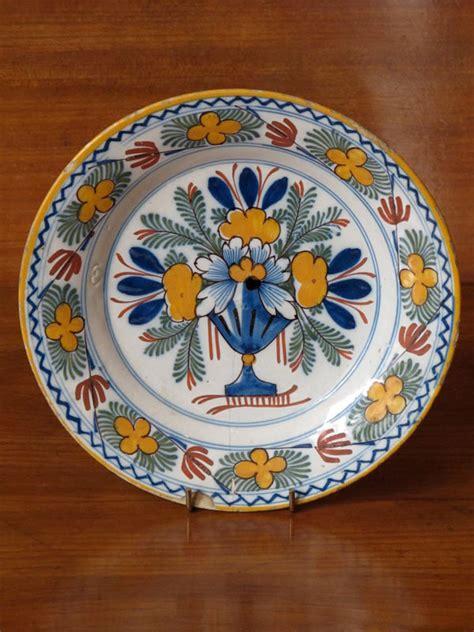 century dutch delft plate ceramics