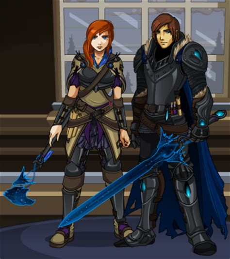 dragonfable design notes: the shears and chronoz