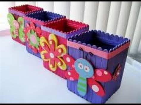 manualidades con paletas manualidades para ni 241 os con palitos de helado youtube