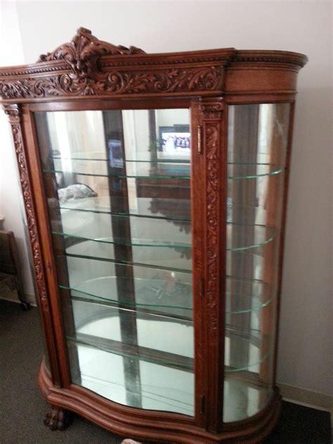 must sell r j horner oak china cabinet northwind