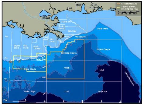 Blockers Location Mississippi Location In The Gulf Of Mexico