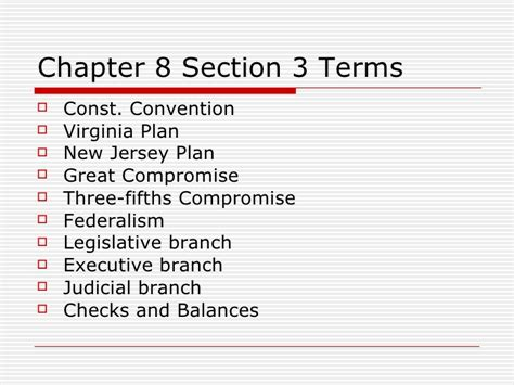 chapter 8 section 3 chapter 8 section 3 notes