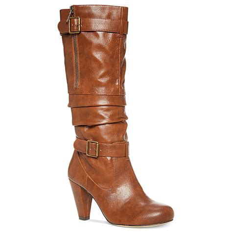 madden boots brown madden payton boots in brown cognac lyst