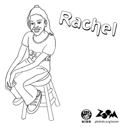 zoom coloring page zoom printables rachel s coloring page pbs kids