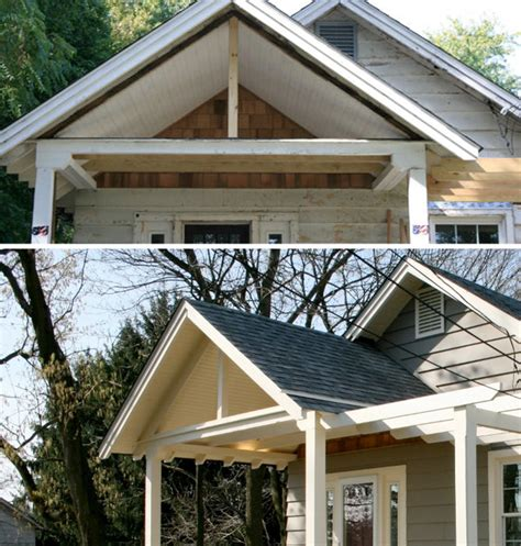 Space Efficient House Plans Home Exterior Renovation From Tired To Stylish Home