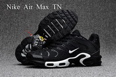 free shipping nike air max plus tn s black white kpu 604133 040 s running shoes sneakers